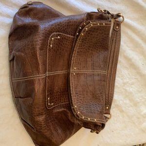 Maxx leather shoulder bag